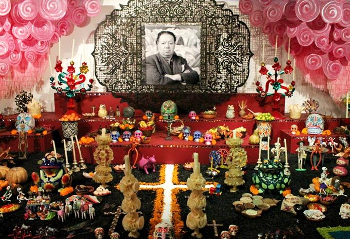 Ofrendas de Día de Muertos en la Ciudad de México