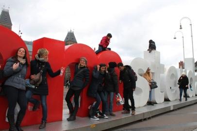I Am Amsterdam.. y sus turistas