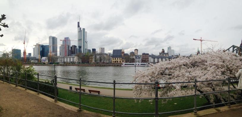 Panorama de Frankfurt